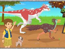 Alearga cu Dino Dan