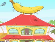 Animale Aproape Goale Cabana Banana