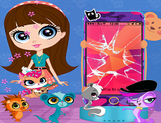 Animalutele Littlest Pet Shop Decoreaza Telefonul