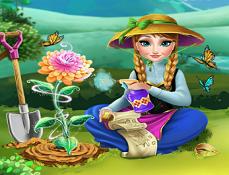 Anna si Gradina cu Flori