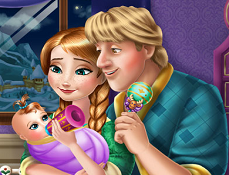 Anna si Kristoff Hranesc Bebelusul