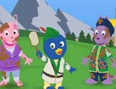 Backyardigans Robin Hood Curatatorul