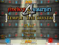 Baiatul de Foc si Fata de Apa Templul de Cristal