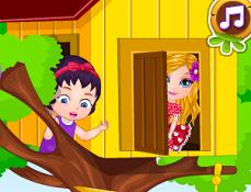 Bebelusa Barbie si Casa din Copac