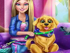 Barbie Dreseaza Catelul