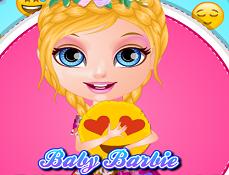 Barbie Face Perna cu Emoji