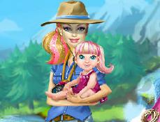 Barbie Merge la Camping