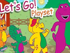 Barney si Prietenii Creaza Scena