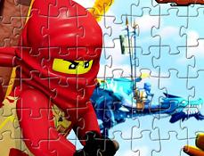 Batalia Ninjago Puzzle