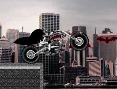Batman Curse cu Motocicleta