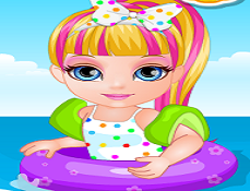 Bebelusa Barbie Distractie pe Plaja