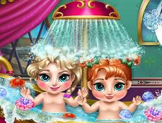 Bebelusii Anna si Elsa Baie