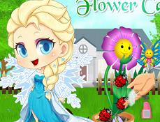 Bebelusul Elsa Ingrijeste Floarea