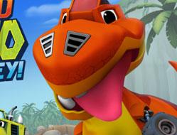 Blaze in Valea Dinozaurilor