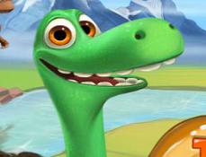 Bunul Dinozaur Calatoreste Acasa