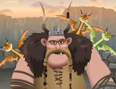 Calaretii Dragonilor si Mancaul