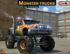 Camionul Monstru 3D de Parcat