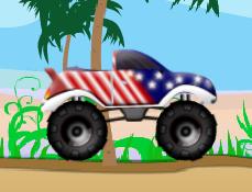 Camionul Monstru American de OffRoad