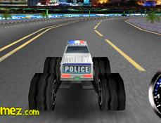 Camionul Monstru de Politie 3D