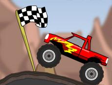 Camionul Monstru pe Munte