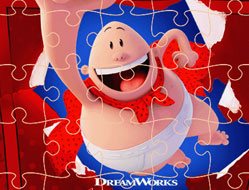 Capitanul Underpants Mania Puzzle