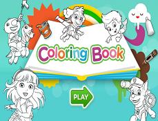 Carte de Colorat Nickelodeon
