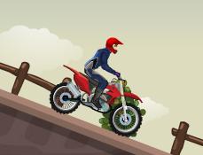 Cascadorul pe Motocicleta