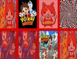 Ceasul Yo-Kai de Memorie cu Carti 2