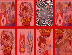 Ceasul Yo-Kai de Memorie cu Carti 3