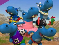 Cu care hipopotam ai vrea sa te imprietenesti?