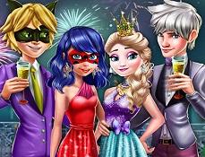 Cuplurile la Petrecerea de Revelion