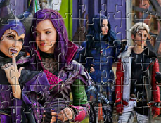 Descendentii Puzzle Jigsaw