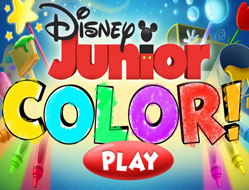 Disney Junior de Colorat
