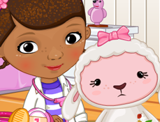Doctorita Plusica cu Lambie la Doctor