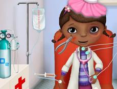 Doctorita Plusica in Ambulanta