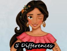 Elena din Avalor cu Diferente