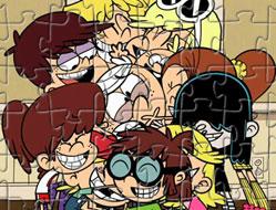 Familia Galagie Puzzle Jigsaw