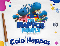 Familia Happos Coloreaza de Craciun