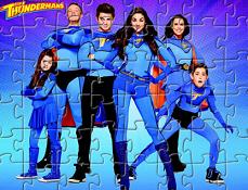 Familia Thunderman Puzzle