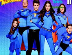 Familia Thunderman Tetris