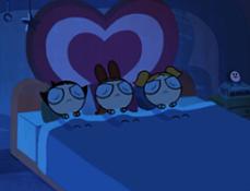 Fetitele Powerpuff Somnoroase