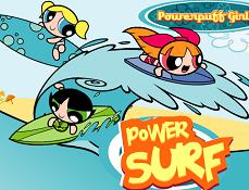 Fetitele Powerpuff la Surf