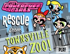 Fetitele Powerpuff la Zoo