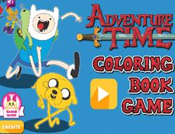 Finn si Jake Carte de Colorat