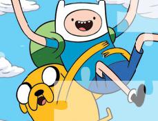 Finn si Jake Puzzle
