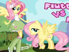 Fluttershy Ponei Vs Equestria