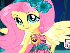 Fluttershy de Imbracat pentru Gala de Cristal