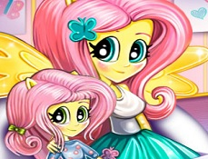 Fluttershy si Fiica Ei