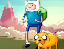 Fugi cu Finn si Jake