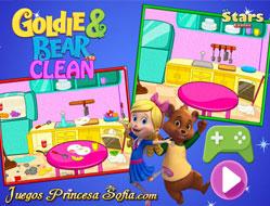 Goldie si Ursulet Curatenie